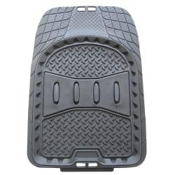 TrailBoss Front Rubber Vehicle Floor Mat - 2 Piece