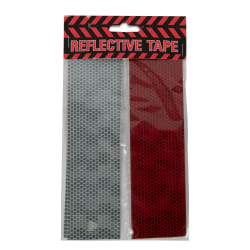 White/Red Reflective Tape