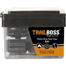 TrailBoss Tarp Clips 6pc