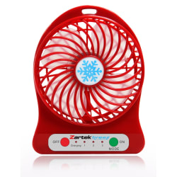 Zartek Rechargeable Mini Fan