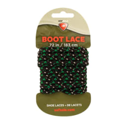 Sof-Sole Boot Lace Waxed Green/Camo 183cm
