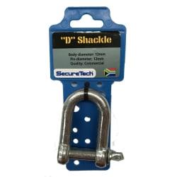 SecureTech D-Shackle 12mm
