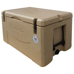 Gear Up 50L Cooler Box Sand Stone