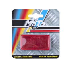 Moto-Quip Adhesive Oblong Reflector 2-Pack