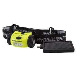 HybridLight Solar Headlamp