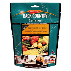 Back Country Spaghetti Bolognaise