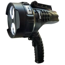 Zartek LED Rechargeable Spotlight with Red Swivel Lens