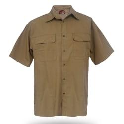 Wildebeest Men's Tactical Ripstop Short Sleeve Shirt