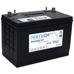 Discover Mixtech 90 Amp/hr Enhanced Flooded Battery