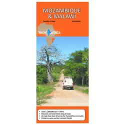 Tracks4Africa Mozambique & Malawai Map