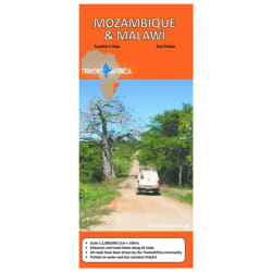 Tracks4Africa Mozambique & Malawai Map 2nd Edition