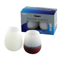 Leisure Quip Silicone Wine Glasses