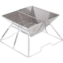 Fireside Stainless Steel Small Folding Braai