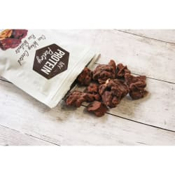 My Protein Pantry choc whey coated raw walnuts