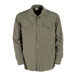 African Nature Men's Technical Ripstop Long Sleeve Shirt