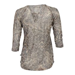 African Nature Women's Burnout 3/4 Sleeve Tee