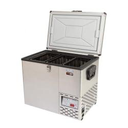 National Luna TrailBoss Series Stainless Steel 50  Fridge/Freezer