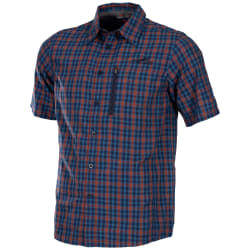 First Ascent Men's Madras Short Sleeve Shirt