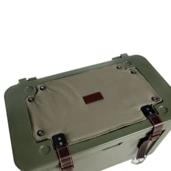 Rogue 45L Ice Cooler With Canvas Seat Cover and Leather Fittings