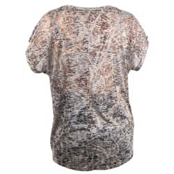 African Nature Women's Paisley Burnout Tee