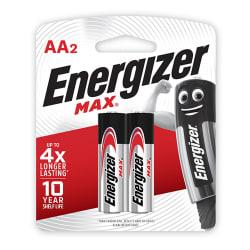 Energizer MAX Alkaline AA Card 2