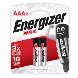 Energizer MAX Alkaline AAA Card 2