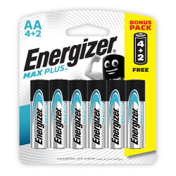 Energizer MAXPLUS AA - 6 Pack 4+2 Free
