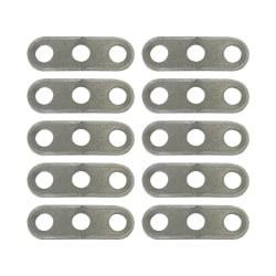 Natural Instincts 10 Piece 3 Hole Aluminium Rope Sliders