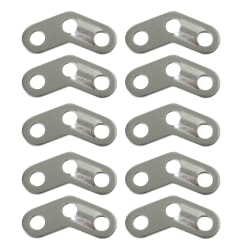 Natural Instincts 10 Piece 3 Hole Angled Aluminium Rope Sliders