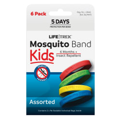 Lifetrek Mosquito Band Kids 6 Pk