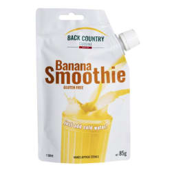 Back Country Banana Smoothie