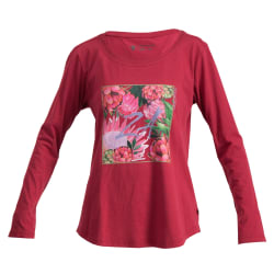 African Nature Women's Protea ZA Long Sleeve Tee