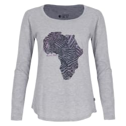 African Nature Women's Zebra Tee
