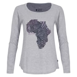 African Nature Women's Zebra Tee