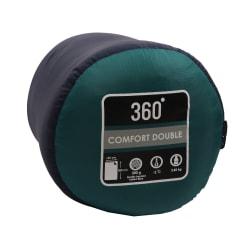 360 Degrees Comfort Double Hollow Fibre Sleeping Bag