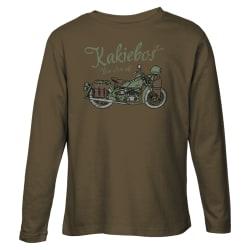 Kakiebos Men's Weermag Motorfiets Long Sleeve Tee