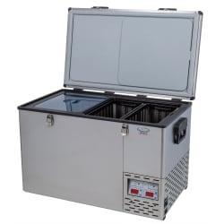 National Luna Legacy NL60 Stainless Steel Fridge/Freezer