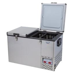 National Luna Legacy NL72 Stainless Steel Fridge/Freezer Double Door