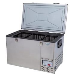 National Luna Legacy NL80 Stainless Steel Fridge/Freezer