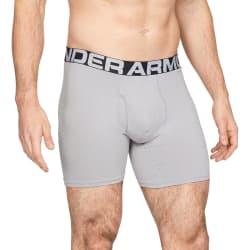 Under Armour Men's Charged Cotton 6 inch 3 Pack Underwear