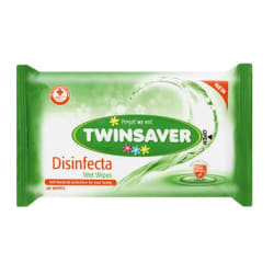 Twinsaver Disinfecta Wipes 40 Pack