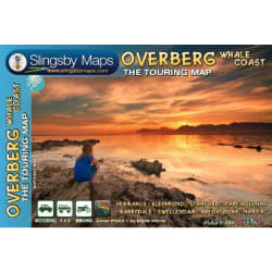 Slingsby Overberg Whale Coast Touring Map