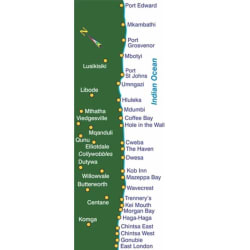 Slingsby West Coast Touring Map