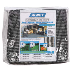 Alnet Netted Groundsheet 3.6 x 3m(Grey)