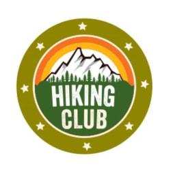 Hiking Club Tag Large