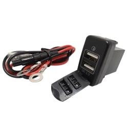 Lumeno Dual QC3 USB Charger