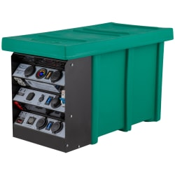 National Luna 12V 25Amp DC-DC Auxilliary Battery Box with Cables and Hardware