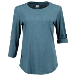 First Ascent Women's Solar Lite 3/4 Sleeve Top