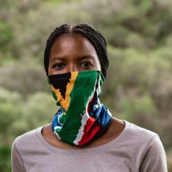 South African Flag Buff