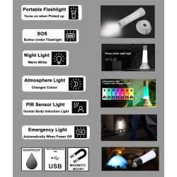 Zartek Multi-Function Lantern